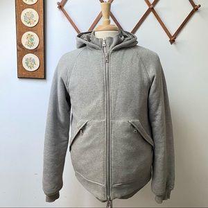 Prada Made In Italy Padded Hoodie Jacket